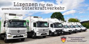 Lizenzen für den gewerblichen Güterkraftverkehr
