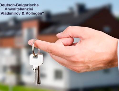 Erwerb von Immobilien BULGARIEN