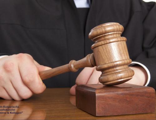 Strafrecht, Rechtsberatung in Bulgarien