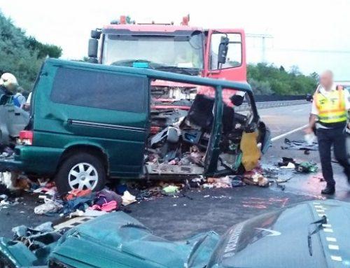 Verkehrsunfall in Bulgarien