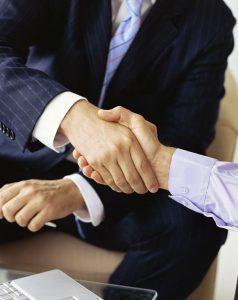 Abschluss eines Mietvertrages