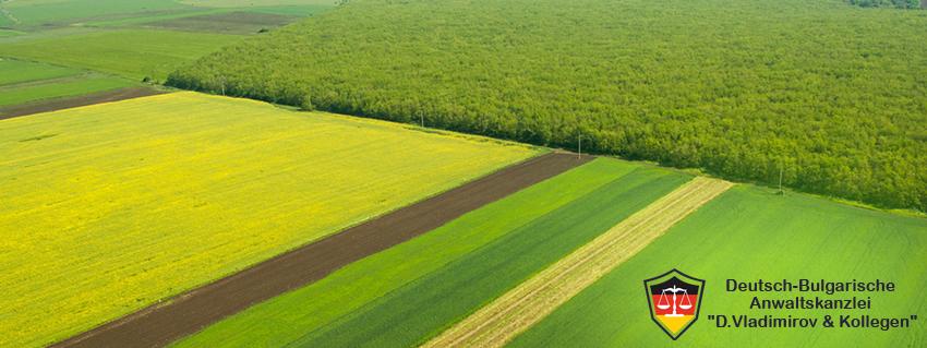 Dokumenten zum Verkauf von landwirtschaftlichen Grundstücken